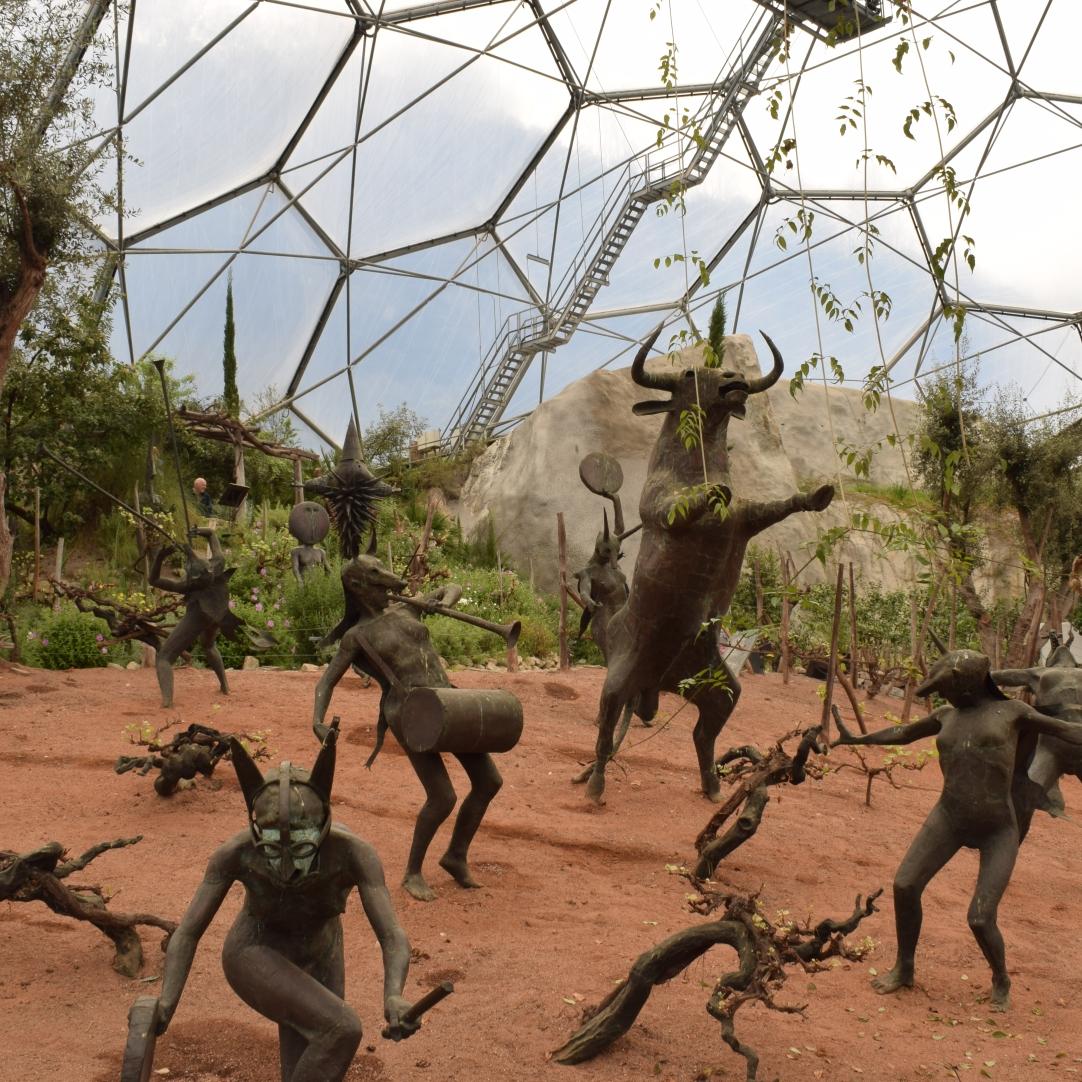 Eden Project Sculptures Dionysus 1